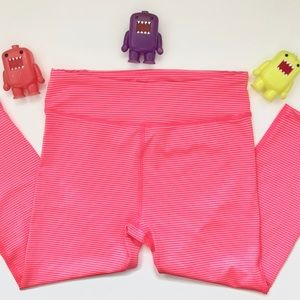 Under Armour Compression Heat Gear Pink Stripe